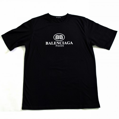 Balenciaga Mode Black Tee [HOP Batch]